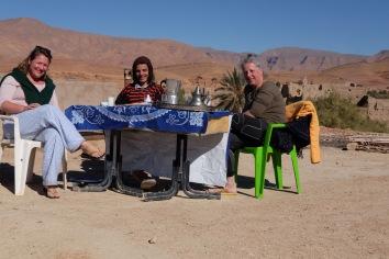 Youssef, Carmen and I