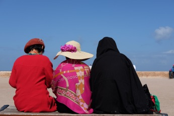 Tourists in Rabat